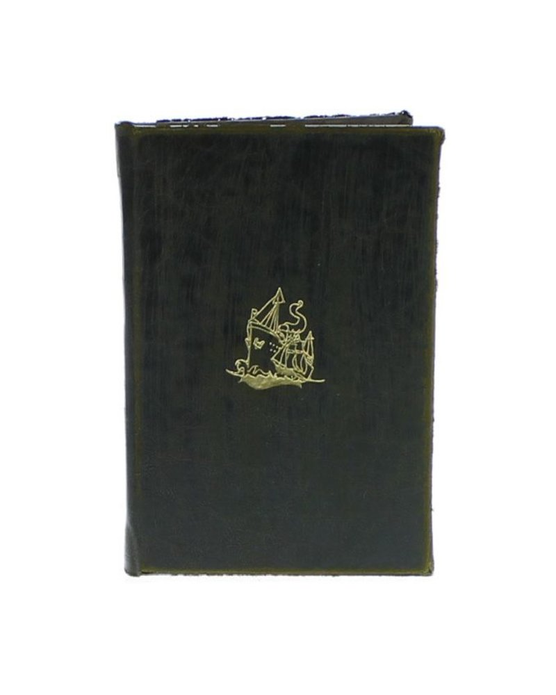 HomArt Maritime Embossed Journal - Ship - Black