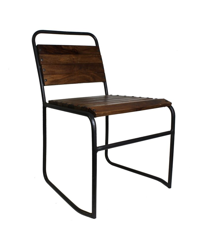 HomArt Aiden Wood & Iron Chair