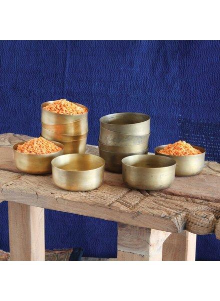 HomArt Dahl Brass Bowl - Polished Brass