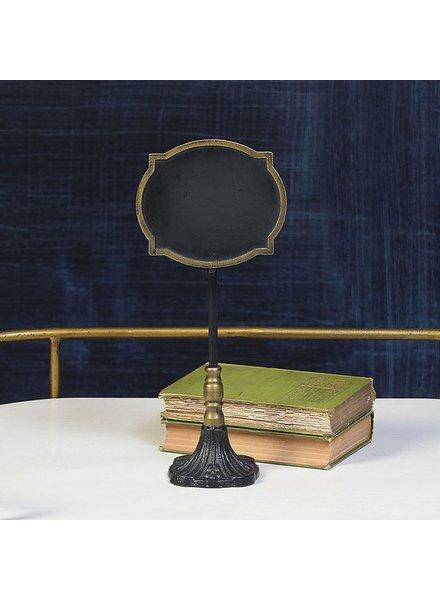HomArt Carrel Chalkboard Stand - Oval