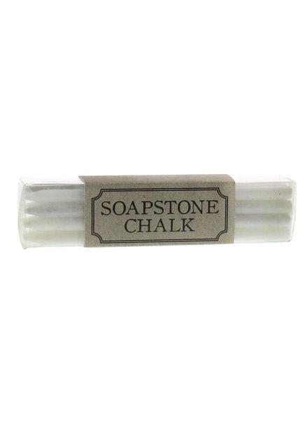 HomArt Soapstone Chalk - Box of 12 Sticks - White