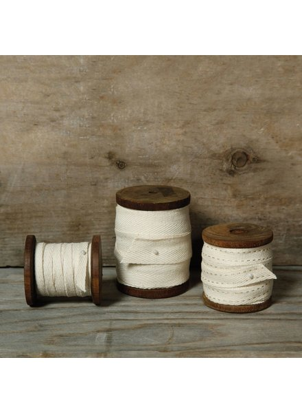 HomArt Spool of Cotton Ticking - Lrg - Wide - Natural