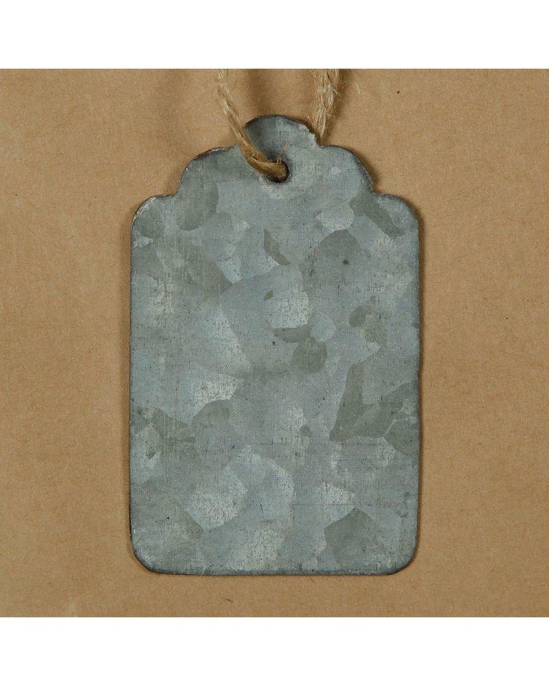 HomArt Zinc Tag Utility - Bag of 6