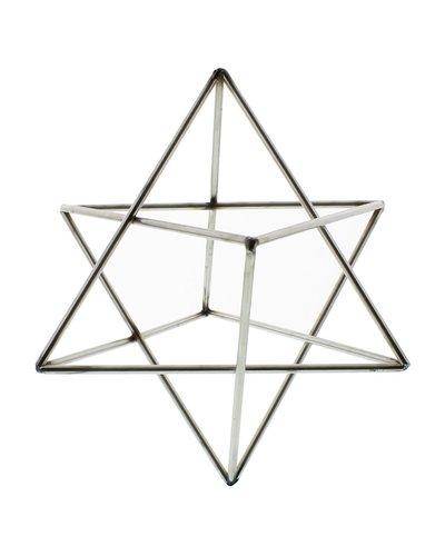 HomArt Steel Geo Star Object - Natural
