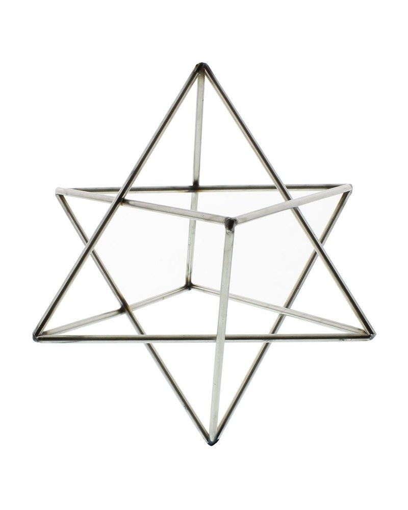 HomArt Steel Geo Star Object - Natural
