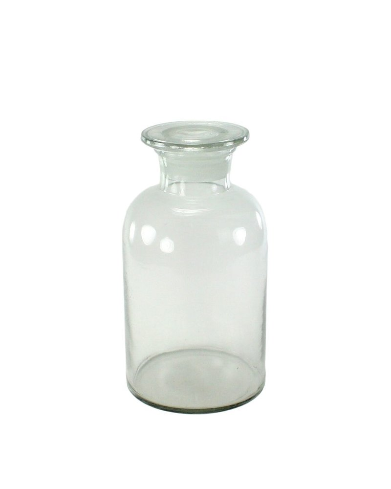 HomArt Pharmacy Jar with Stopper - Lrg - Clear
