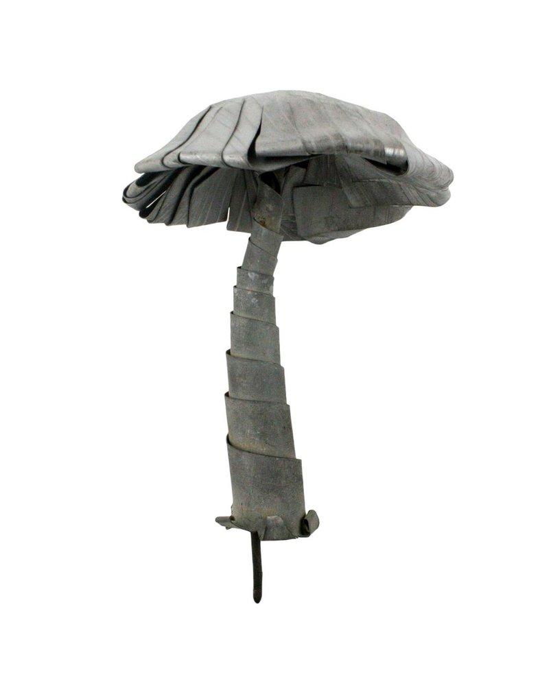 HomArt Galvanized Mushroom - Lrg