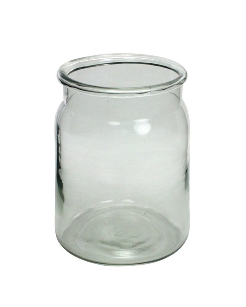 HomArt Tide Glass Crock - Lrg - Clear