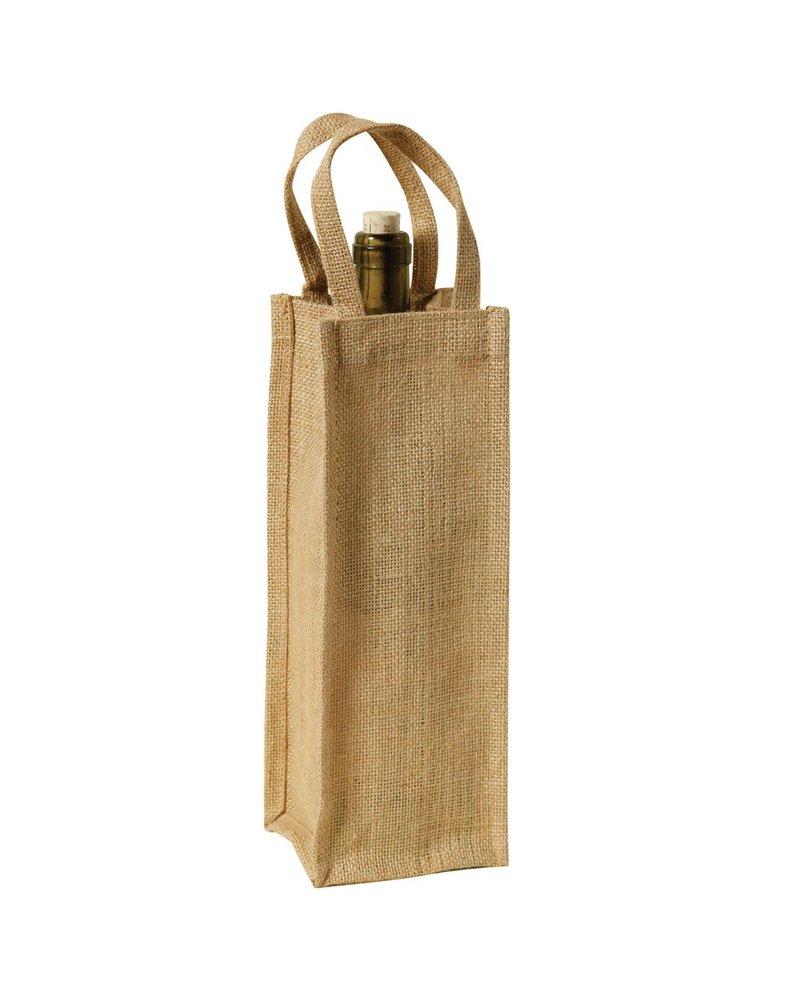 HomArt Picnic Tote - 1 Bottle - Plain