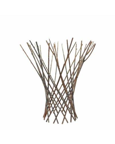HomArt Flared Twig Trellis - Med - Natural