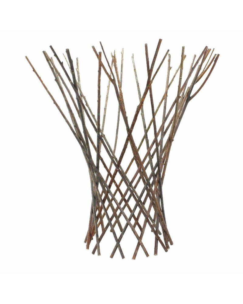 HomArt Flared Twig Trellis - Lrg - Natural