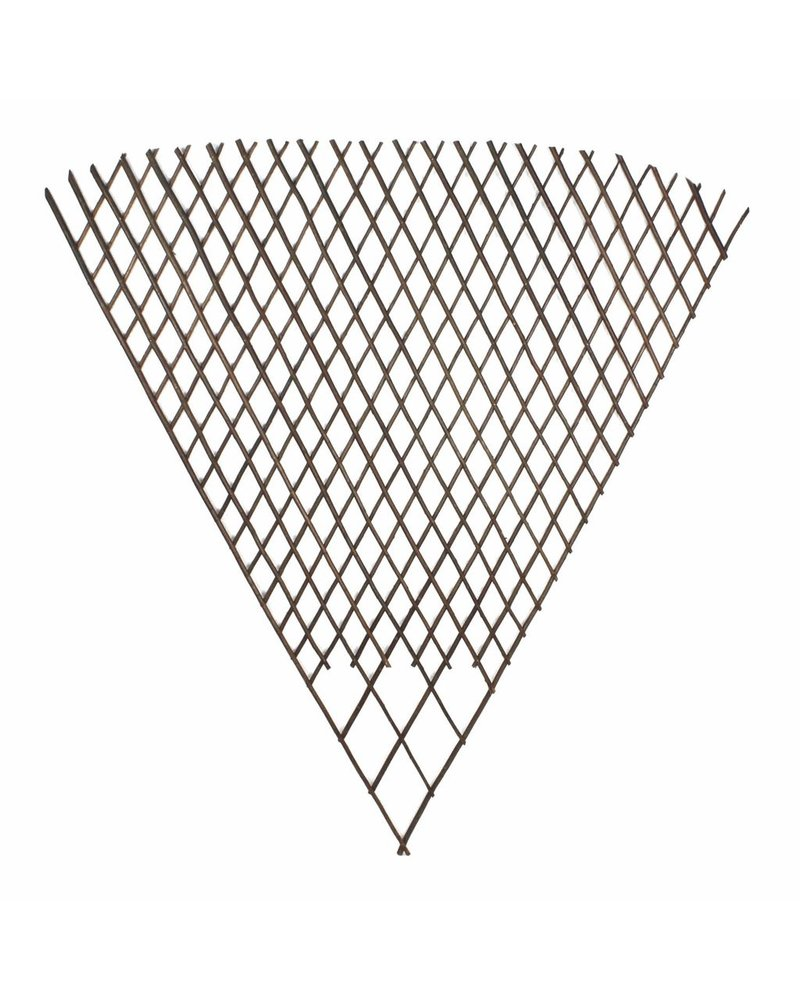 HomArt Fan Twig Trellis - Lrg - Natural