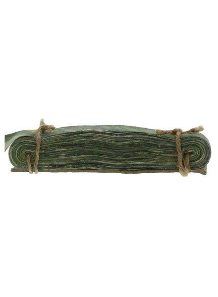 HomArt Marbleized Grosgrain Ribbon - Green