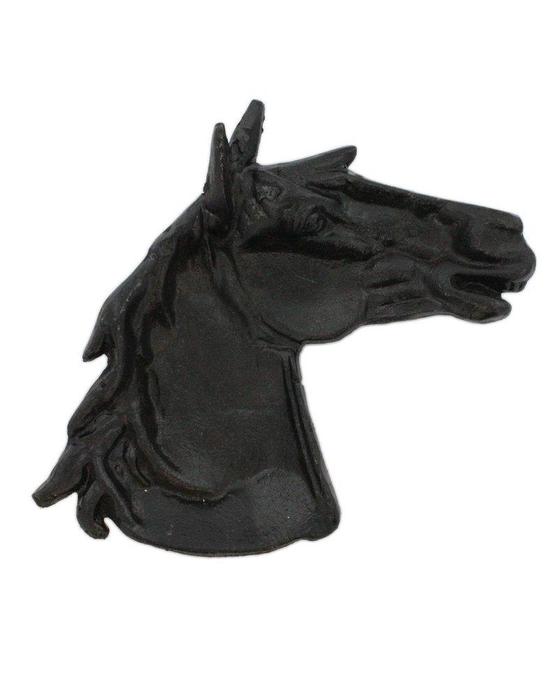 HomArt Horse Head Tray - Cast Iron - Antique Black