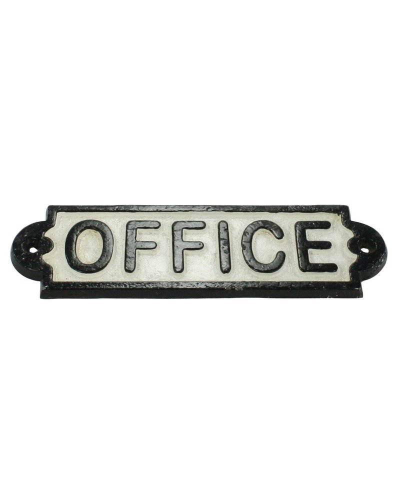 HomArt Cast Iron Sign - Office