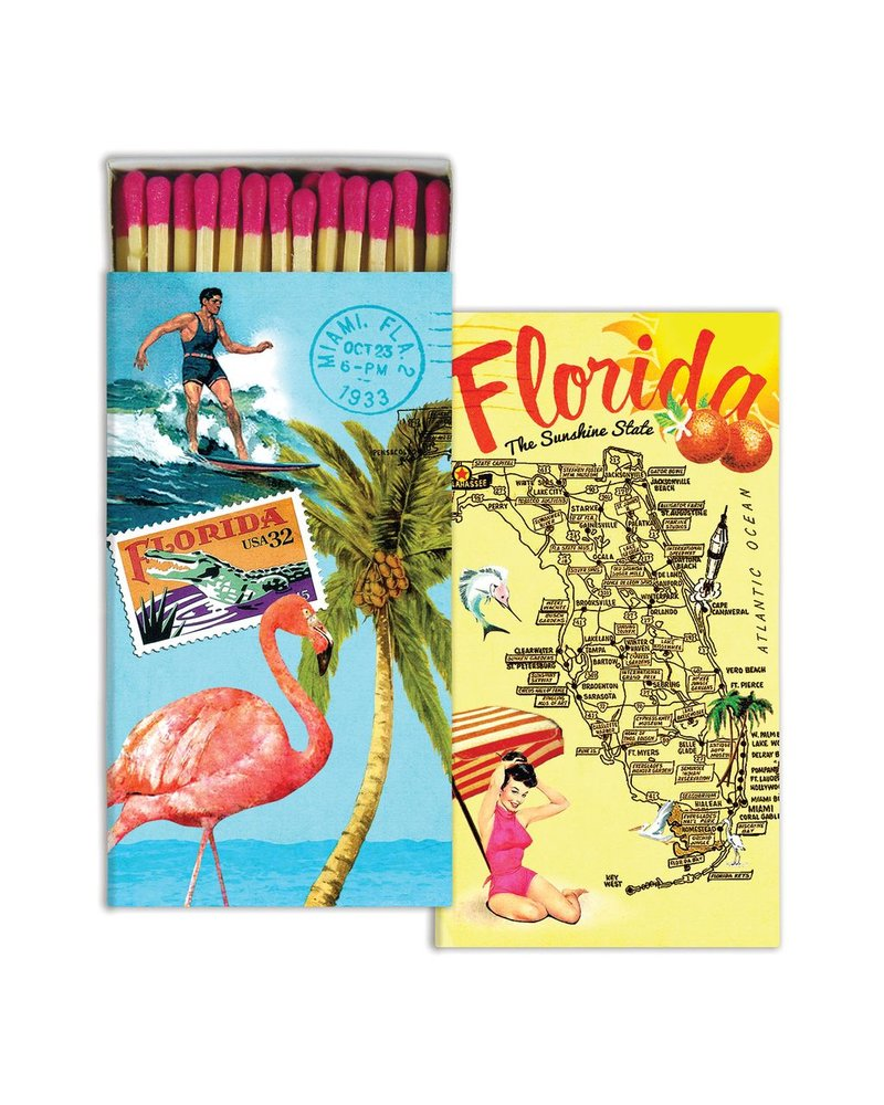 HomArt Florida HomArt Matches - Set of 3 Boxes