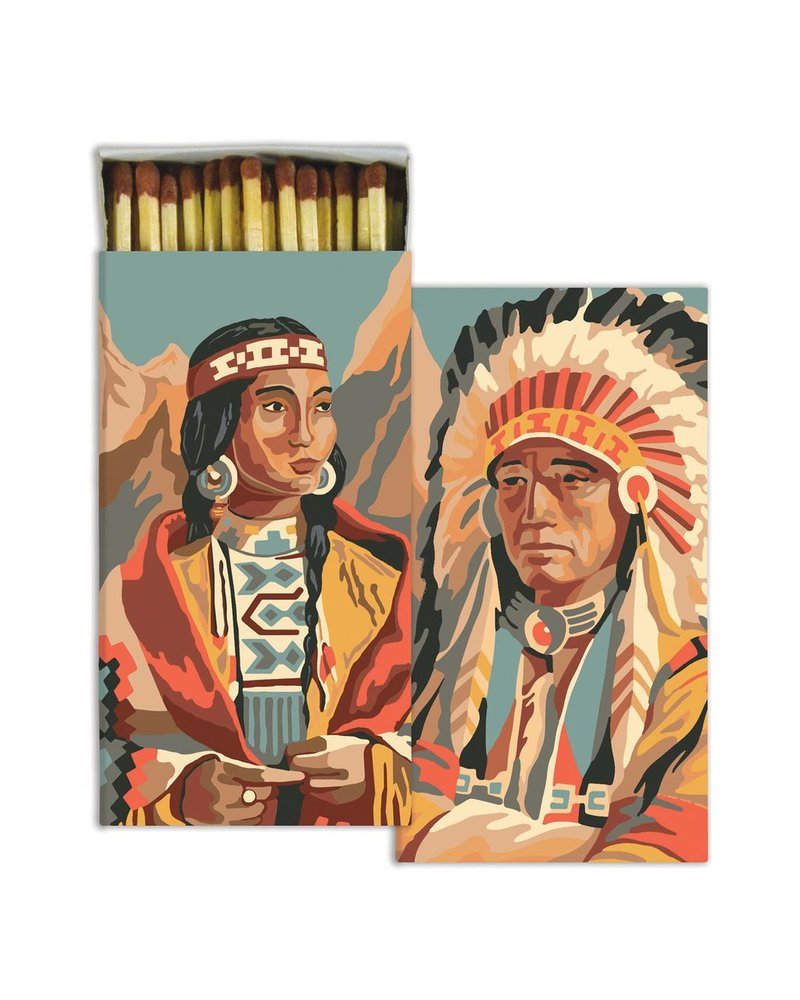 HomArt Native American HomArt Matches - Set of 3 Boxes
