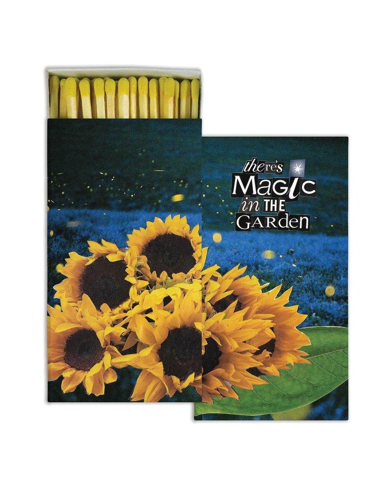 HomArt Magic in the Garden HomArt Matches - Set of 3 Boxes