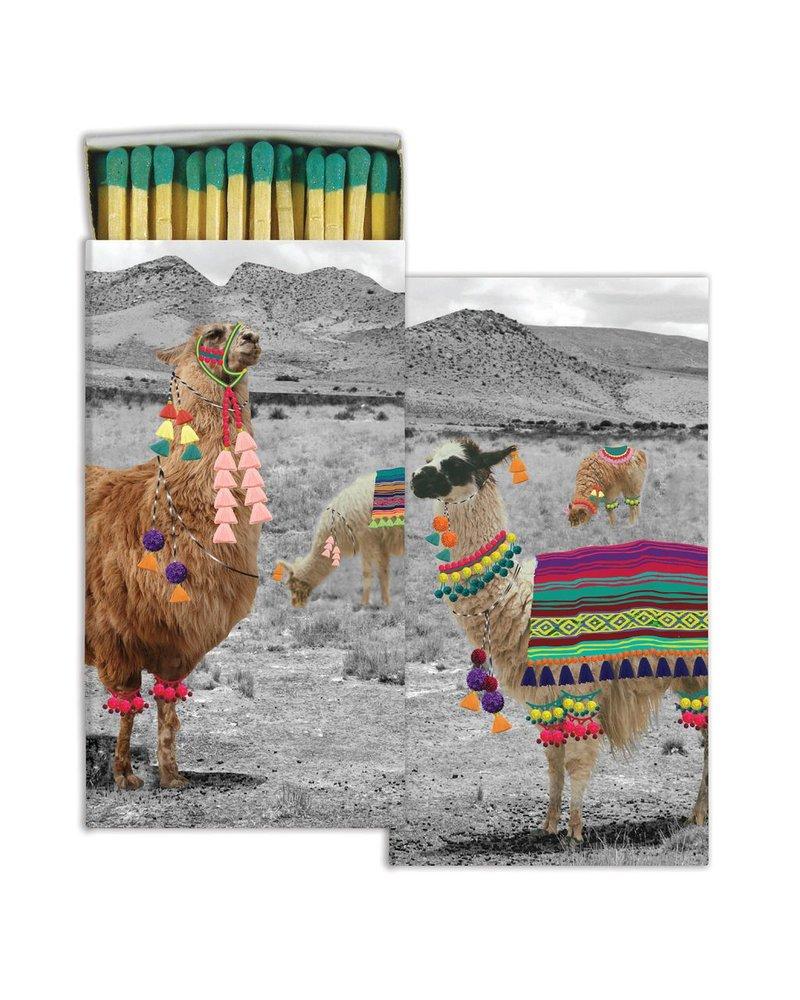 HomArt Llama HomArt Matches - Set of 3 Boxes