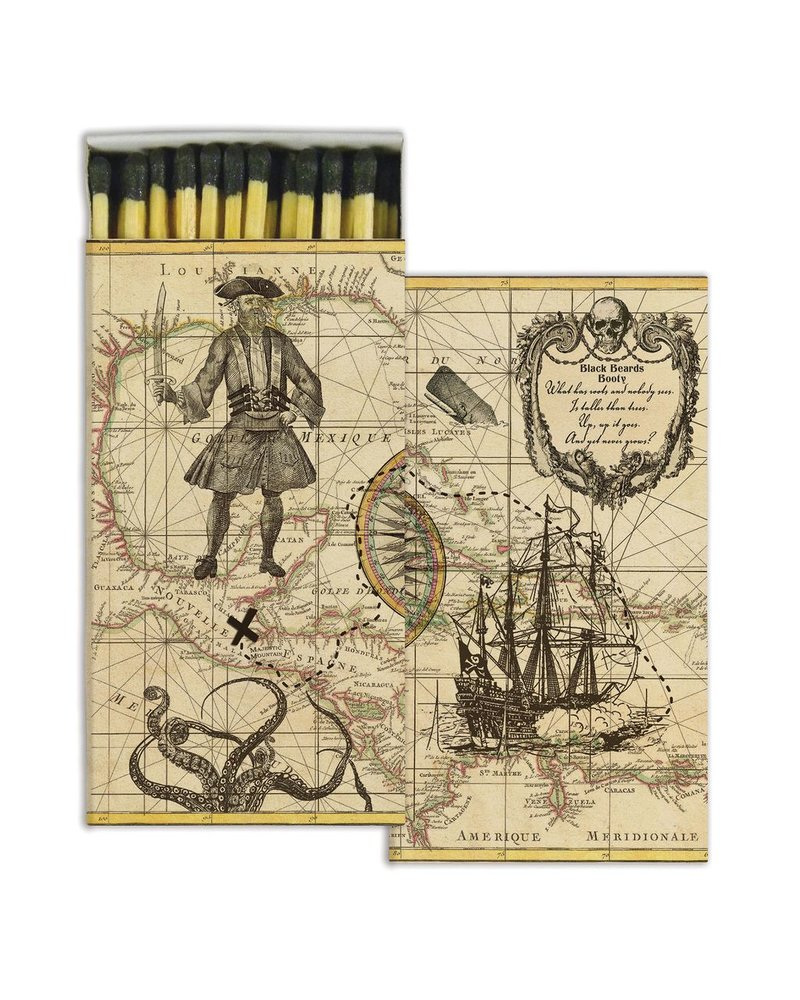 HomArt Pirate HomArt Matches - Set of 3 Boxes