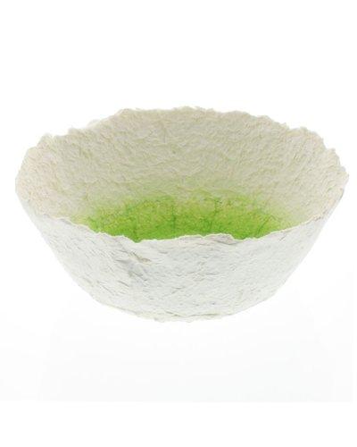 HomArt Paper Mache Bowl - Lrg - Honeydew