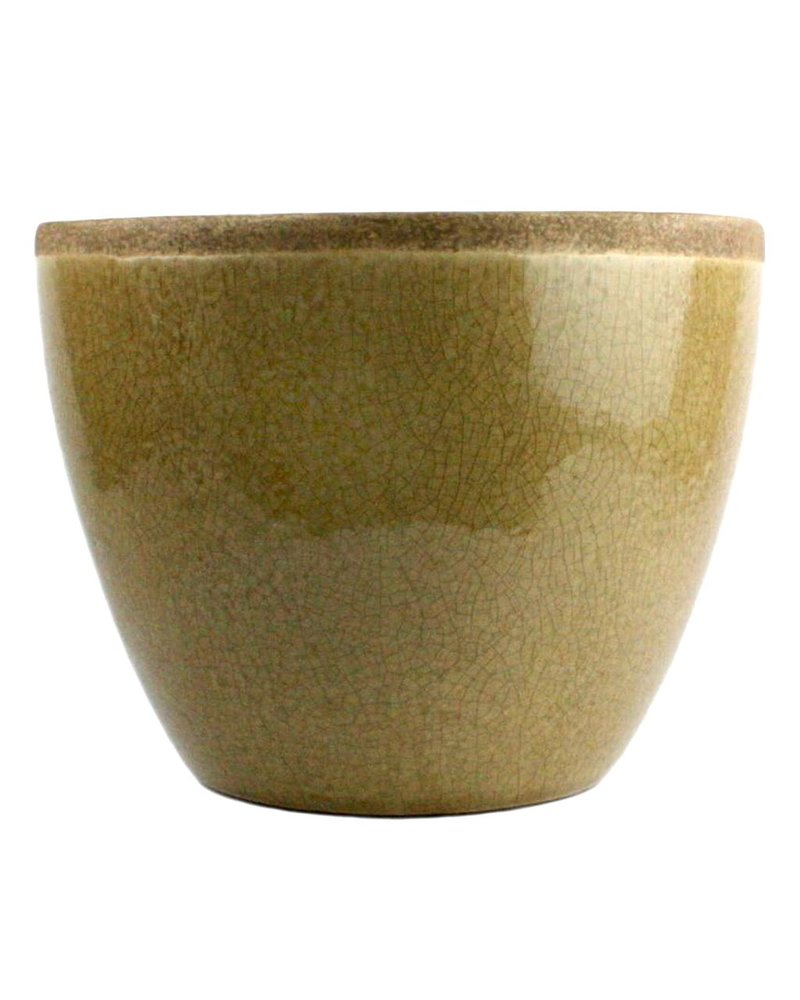 HomArt Mulberry Ceramic Bowl - Lrg - Yellow