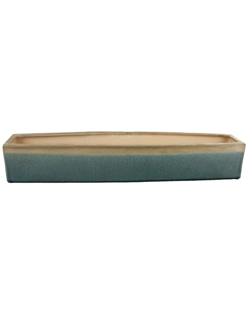 HomArt Mulberry Ceramic Rect Tray - Lrg - Teal