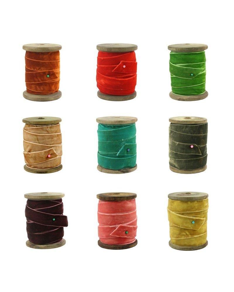 HomArt Marais Velvet Ribbon - Assortment - Lrg - 2 Each Color