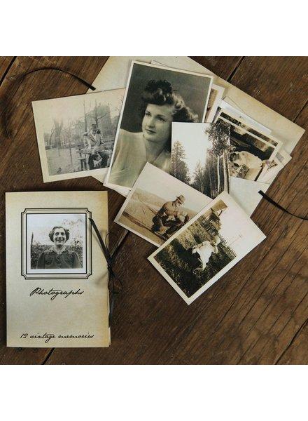HomArt Vintage Photographs - Pack of 12