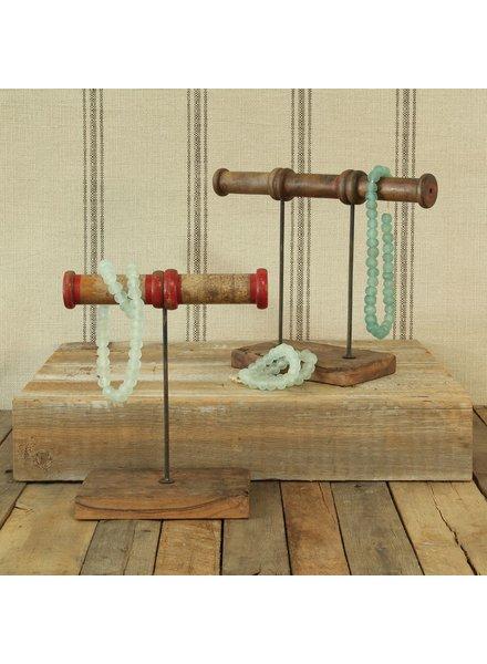 HomArt Piper Wood Spool Jewelry Stand - 2 Spool