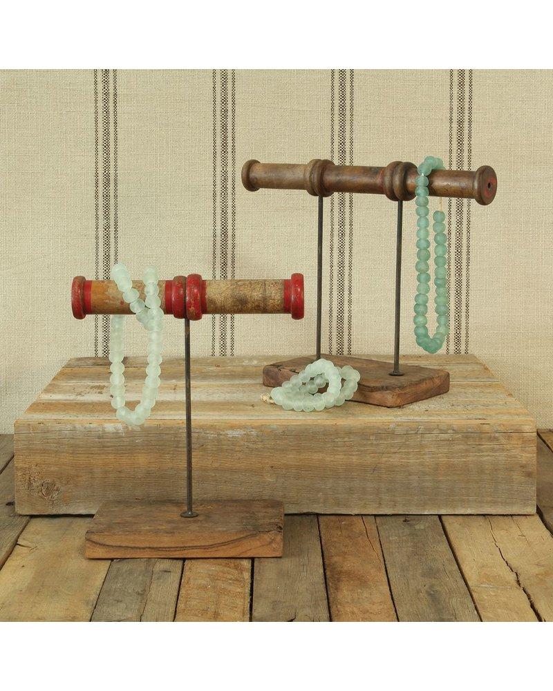 HomArt Piper Wood Spool Jewelry Stand - 3 Spool