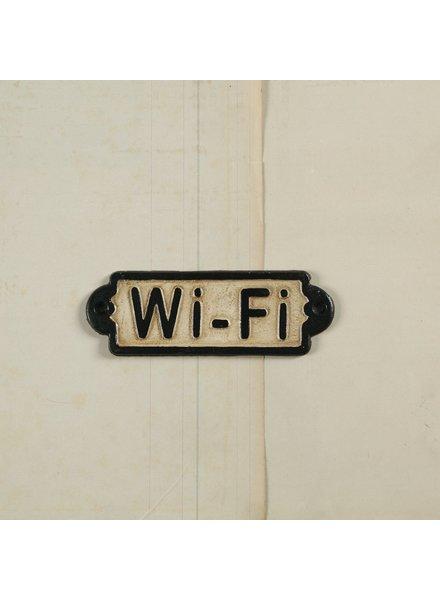 HomArt Cast Iron Sign - WiFi