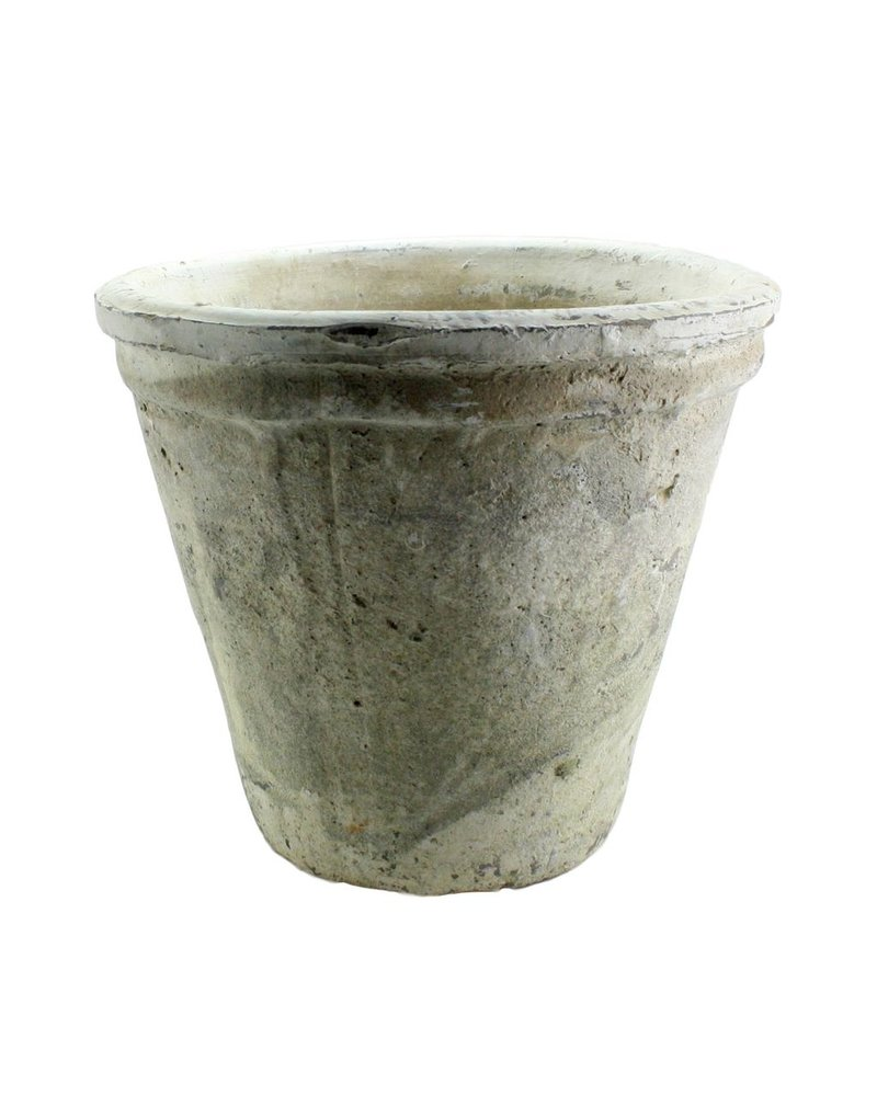 HomArt Rustic Terra Cotta Short Tomato Pot - Sm - Whitestone