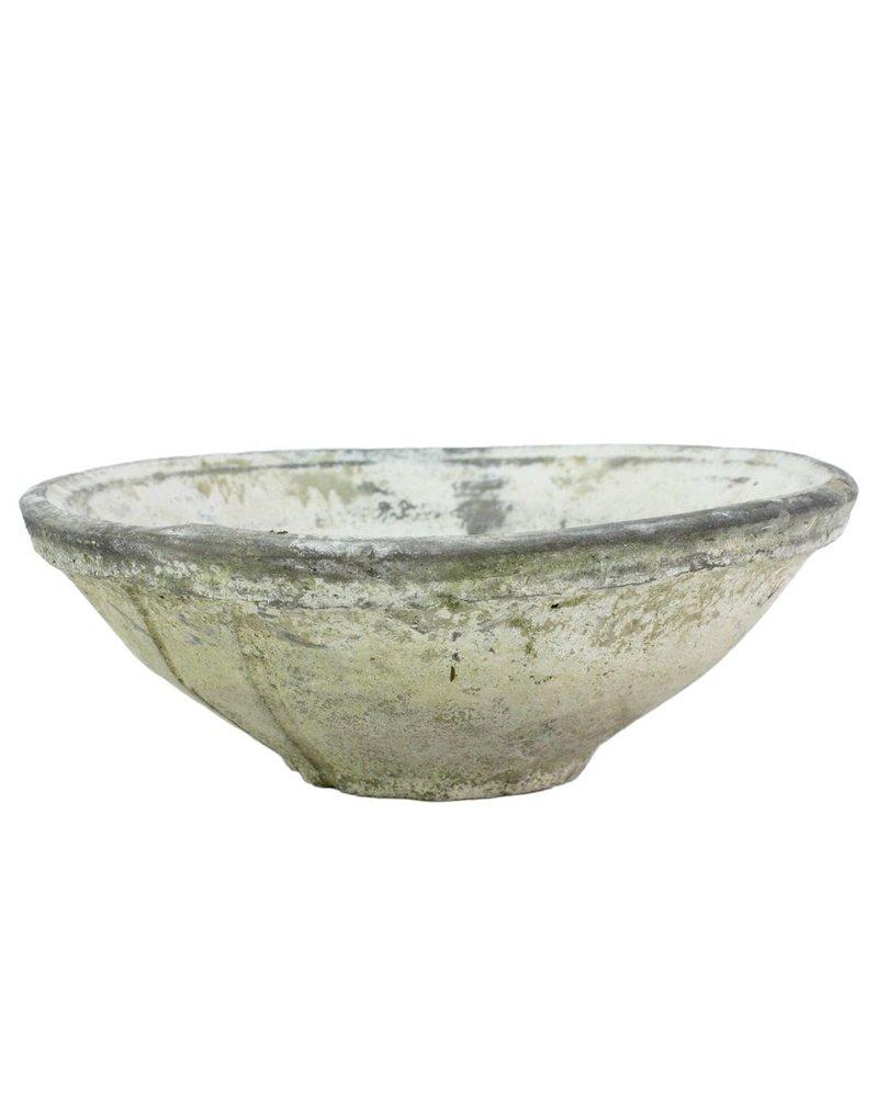 HomArt Rustic Terra Cotta Bowl - Med - Whitestone