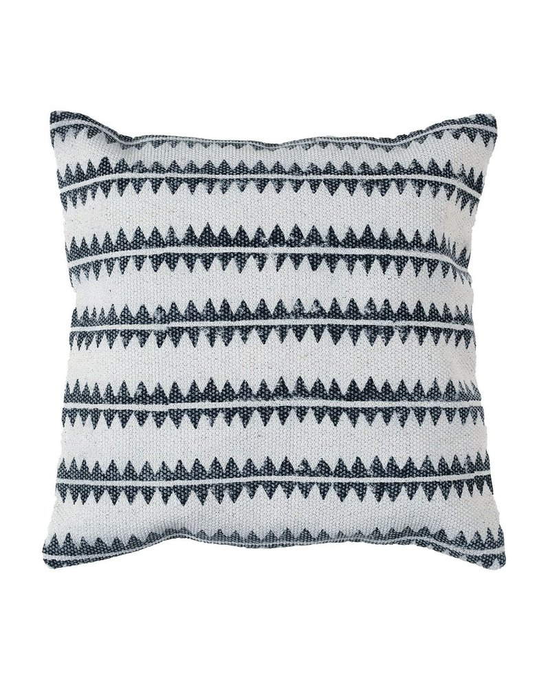 HomArt Block Print Pillow 16x16 - Sawtooth Stripe