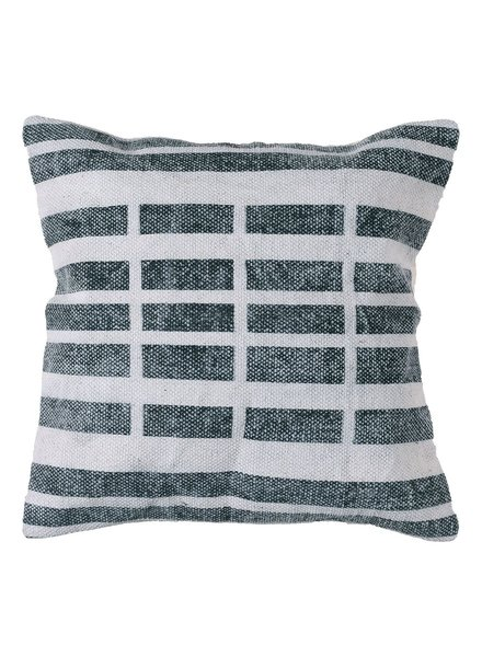 HomArt Block Print Pillow 16x16 - Broken Stripe