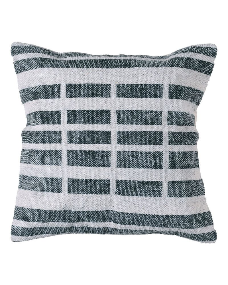 HomArt Block Print Pillow 16x16 - Broken Stripe