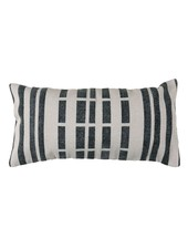 HomArt Block Print Lumbar Pillow 12x24 - Broken Stripe