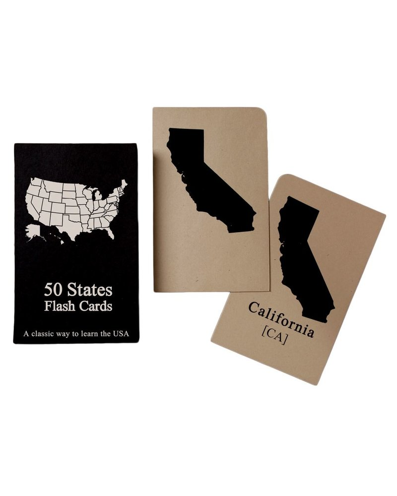 HomArt States Flashcards - 50 States