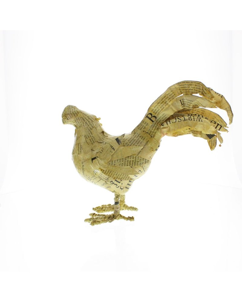 HomArt Antique Paper Chicken - Vintage Paper
