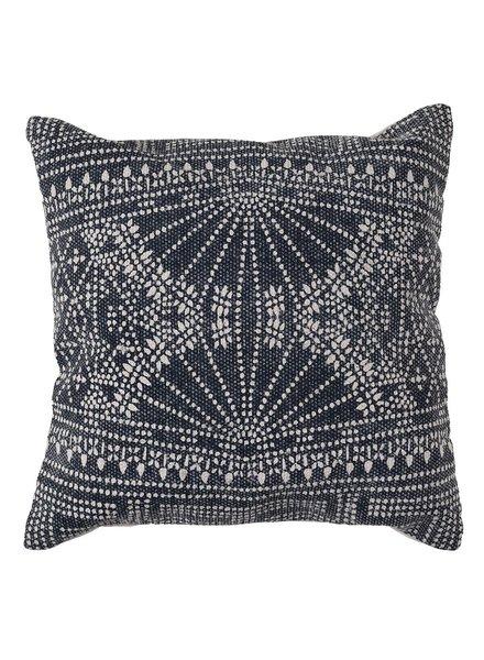 HomArt Indigo Batik Pillow 16x16 - Indigo Batik