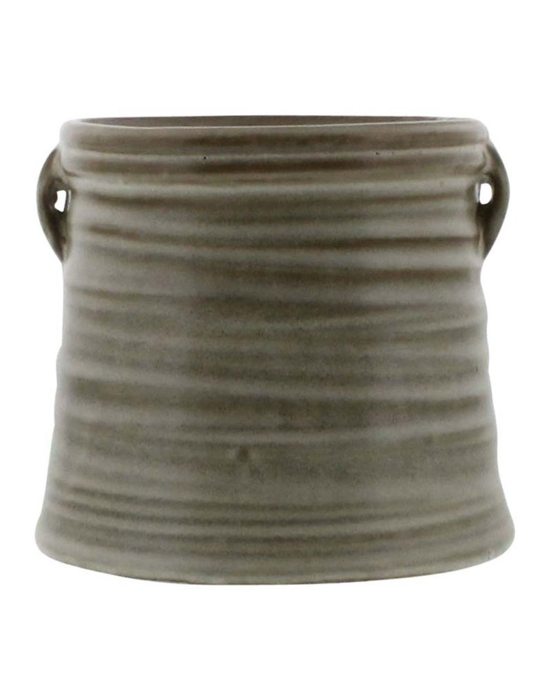 HomArt Mission Ceramic Cachepot - Sm - Natural