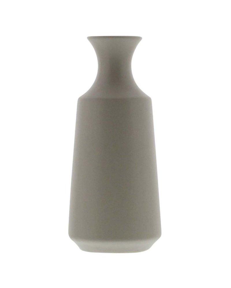 HomArt Mist Ceramic Bud Vase - Lrg - Matte Grey
