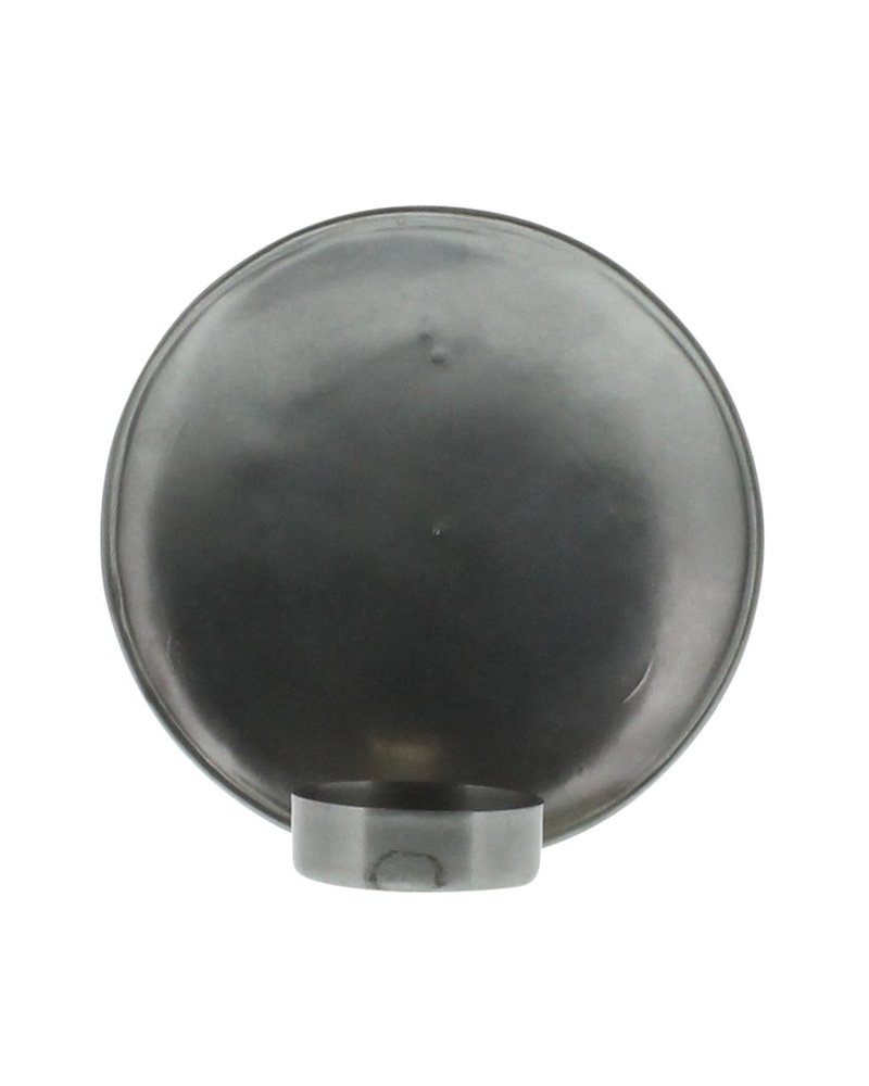 HomArt Alma Iron Tealight Wall Sconce - Sm - Zinc