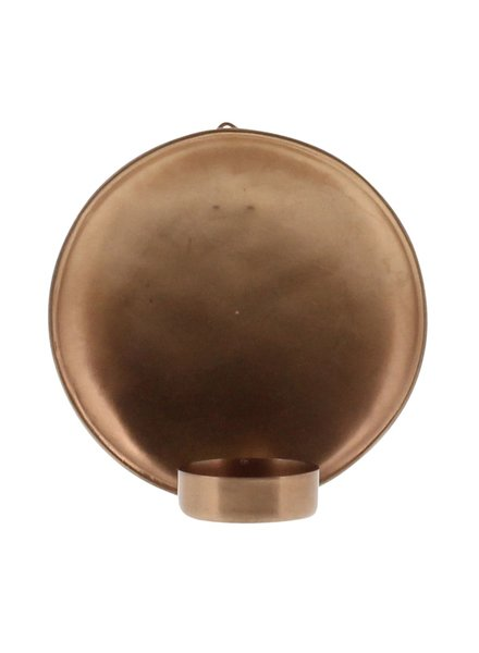 HomArt Alma Iron Tealight Wall Sconce - Sm - Copper