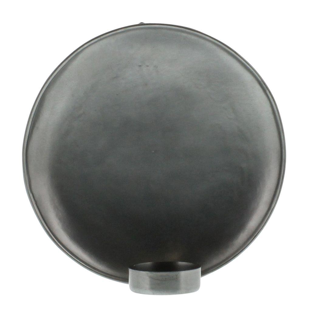 Homart Alma Iron Tealight Wall Sconce Lrg Zinc Areohome