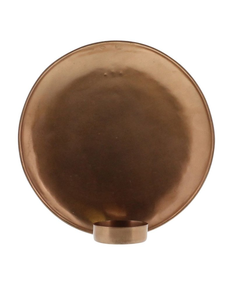 HomArt Alma Iron Tealight Wall Sconce - Lrg - Copper