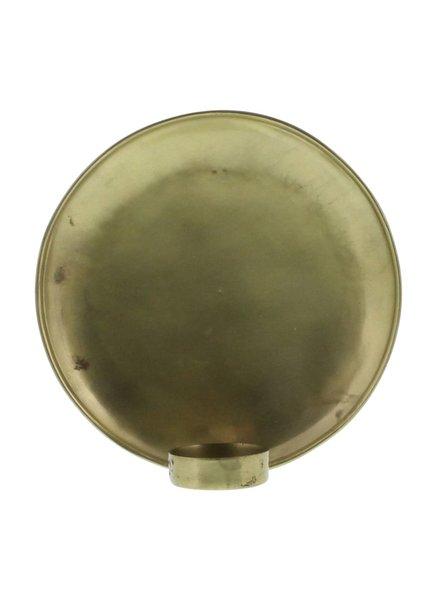 HomArt Alma Iron Tealight Wall Sconce - Lrg - Brass