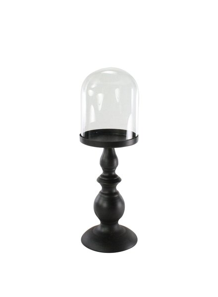 HomArt Cooper Pedestal - Tall with Glass Dome - Sm