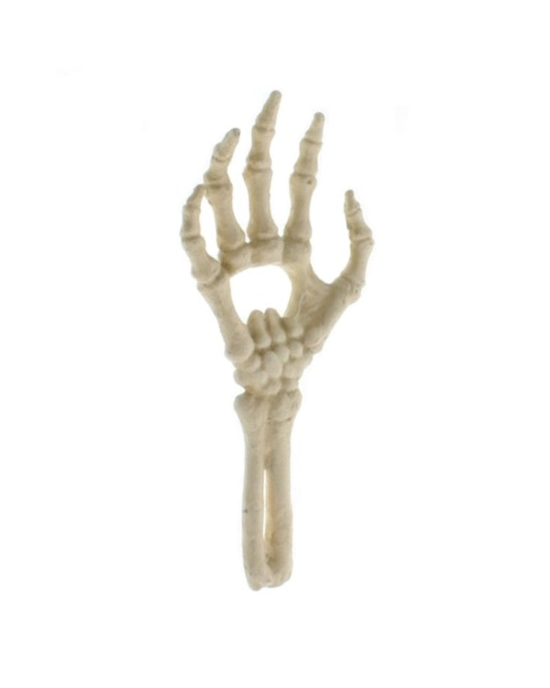 HomArt Skeleton Hand Bottle Opener - Cast Iron